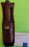 D - ONTARIO 5-94 KNIFE