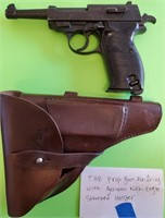 D - P38 PROP GUN NON FIRING WITH GERMAN EAGLE