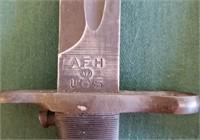"M1 GARAND BAYONET M-194 SHORTER - CUT DOWN 10"""