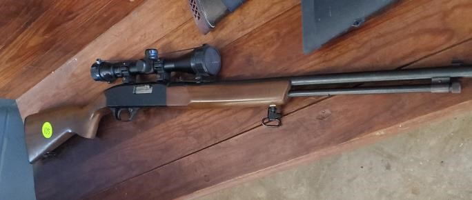 WINCHESTER MODEL 190 - 22 MAG WITH SCOPE