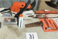 Stihl MS 261 chain saw