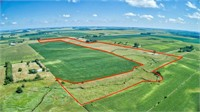 184.62 Surveyed Acres in Riverton Township, Clay County, IA