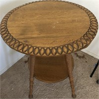 47 - BEAUTIFUL ROUND SIDE TABLE