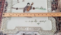 48 - PAIR OF EXQUISITE ORIENTAL END TABLES