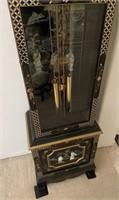 48 - BEAUTIFUL TALL ORIENTAL GRANDFATHER CLOCK