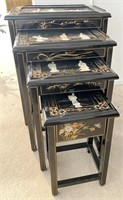 48 - STUNNING ASIAN NESTING TABLES