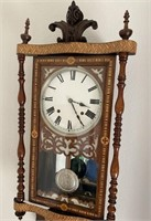 48 - VINTAGE HANGING WALL CLOCK