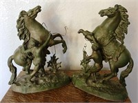 47 BUCKING BRONCO'S HORSE STATUES