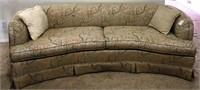 47 - UNIQUE SOFA AND LOVE SEAT SET