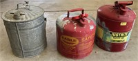 47 - VINTAGE GAS CANS