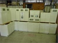Shaker white 19 pc. kitchen set