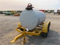 500 Gallon Fuel Wagon With 12 Volt Pump