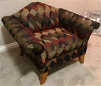 56 - SPUNKY ART DECO ARM CHAIR