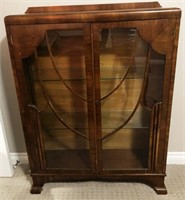56 - NICE WOOD CONSOLE TABLE