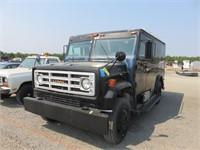 (DMV) 1981 GMC Armored Truck