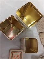 Current Nesting Tin Sets & Tin w/Stationary