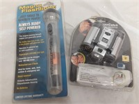 Digital Binoculars & Magna Flashlight