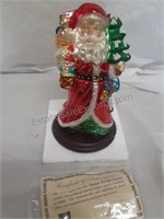 "Thomas Pacconi Santa Decor 10"" Color Chipping on"