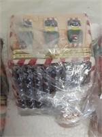 Set of 5 Porcelain Music Boxes w/Gift Bags - NIP