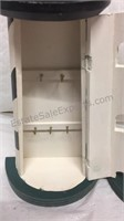 Pair of Wood Light House Cabinets (1 needs top