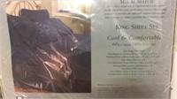 Black King Sheet Set