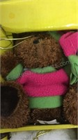 Quaker Factory Musical Bear Ornament Set