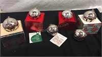 Collection of Silver Plate Xmas Jingle Bells