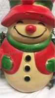 Vintage Union Productions Mold Snowman &