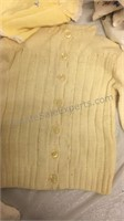 Large Assortment of Vintage Baby Clothes, Bibs,