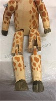 Zebra & Giraffe Wood Shelf Sitters, Musical