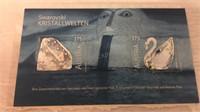 Swarovski Austria Stamp Set