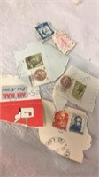 Postmarked Stamp Collection