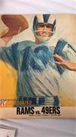 Vintage Football Memorabilia