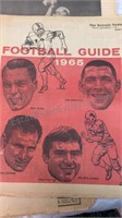 Vintage Football Guides