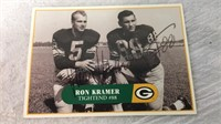 Ron Kramer Autographed & other Ron Kramer