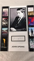Autographed John Updike Picture approx 8x10