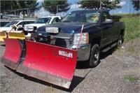 2007 Chevrolet Silverado 2500HD Work Truck 4x4 2dr