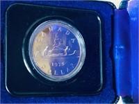 1975 CANADIAN SILVER DOLLAR