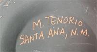 VINTAGE NATIVE AMERICAN POT - SIGNED M. TENORIO