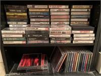 CD's, DVD's, VHS, Cassettes