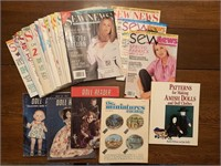 Contents of 2 shelves- magazines