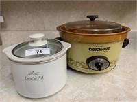 2 Rival crock pots
