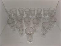 20-piece Crystal Stemware