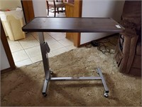 Rolling Overbed Table
