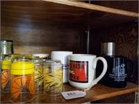 Coca-Cola Glasses, Contents of Shelf