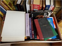 Vintage Books, Biographies, Books on Shelf