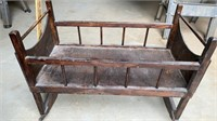 PRIMITIVE DOLL CRADLE IN GREAT SHAPE