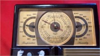 VINTAGE WEATHER THERMOMETER, HUMIDITY AND CHANGE