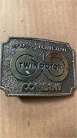 SPERRY NEW HOLLAND TWIN ROTOR COMBINE BELT BUCKLE