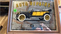 """AUTO REPAIR MIRROR/SIGN 12"""" by 16"""""""